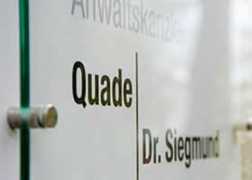 Rechtsanwältinnen Quade und Dr. Siegmund in Gelsenkirchen